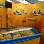 Messeaufbau McCain Edeka Messe München