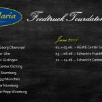 Santa Maria Foodtruck Tourdaten 2019